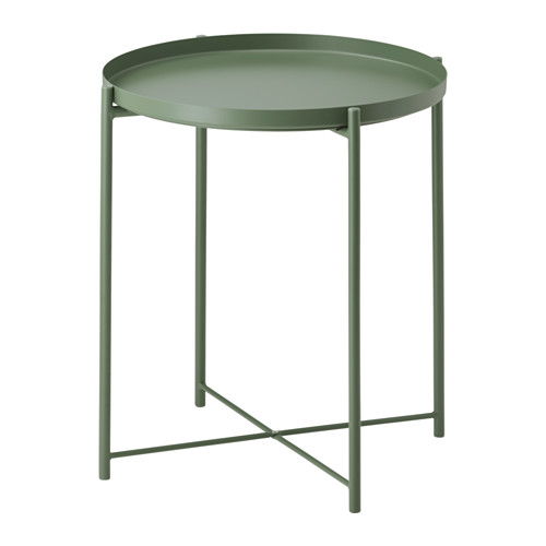 Albie Knows ORC -- Gladom Tray Table in Green (IKEA)