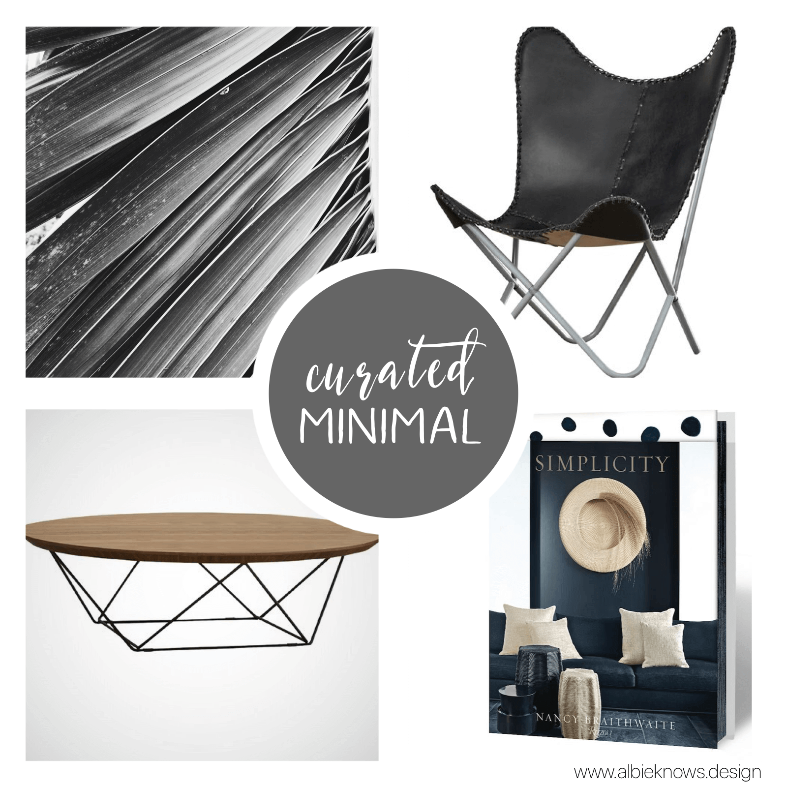 You strive to have a space pared down to its bare bones, embodying your lifestyle of simplicity & purity. Less is more. You prefer a design that is stripped down to the essentials while showing a clear appreciation for geometric lines, repeated structures, clear spaces, curated pieces, and sleek, unobtrusive furnishings.    READ MORE