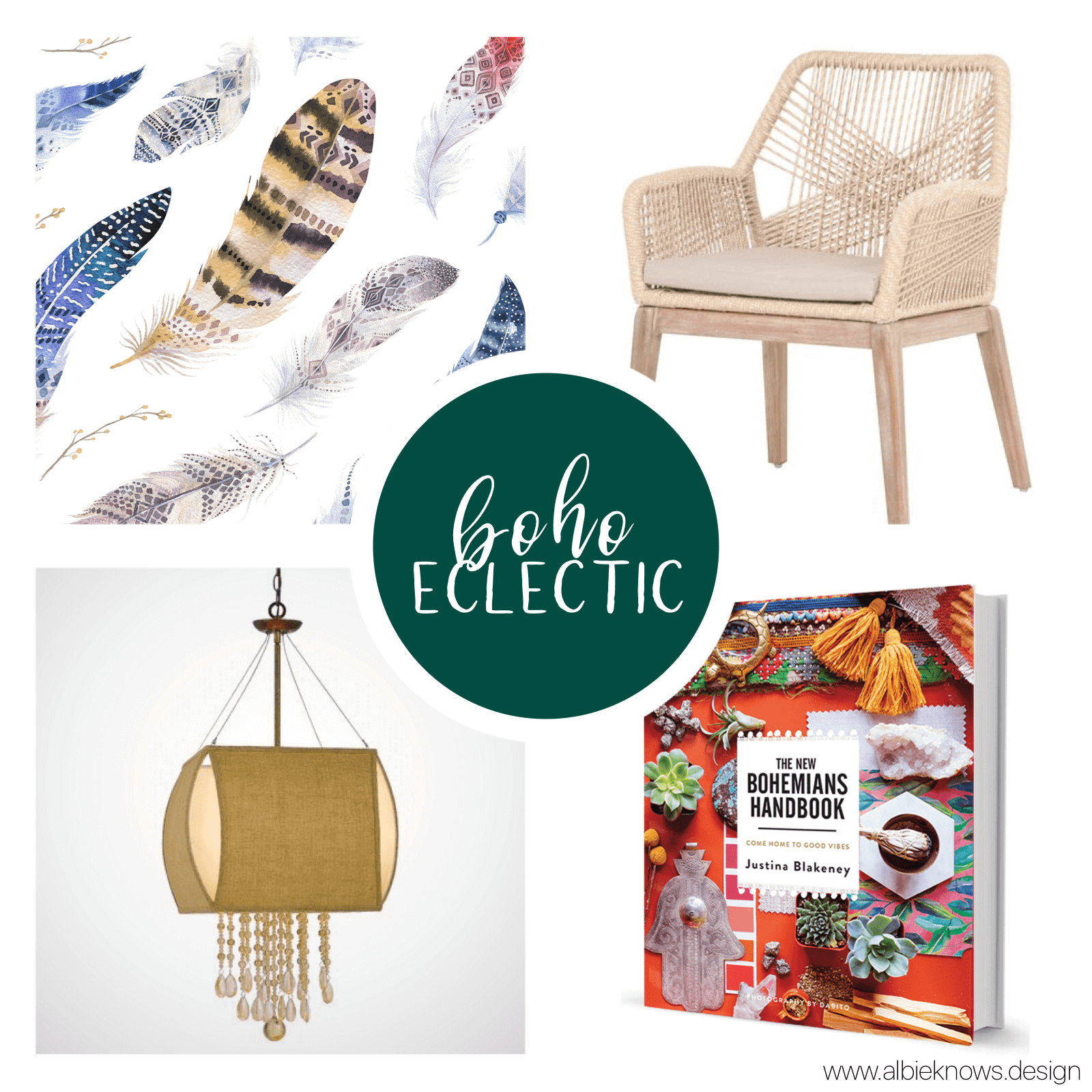 You live an unconventional, artistic life, making you something of a free-spirit. You're not afraid to layer textures, mix styles, or try bold prints & colors, that most would shy away from. Your space expresses a well-traveled, lived in feel, while still being purposeful & collected.    READ MORE