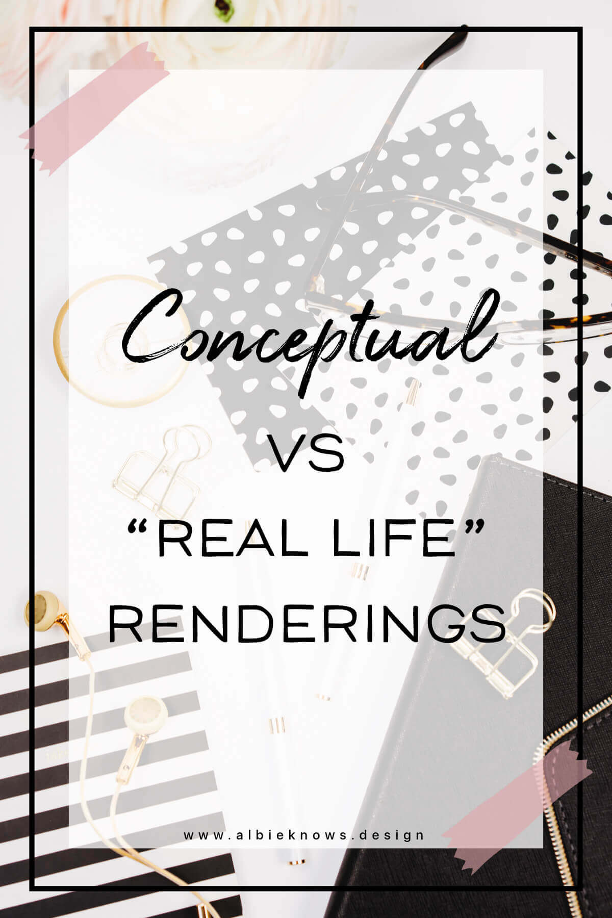 Albie Knows Conceptual vs Real Life Renderings