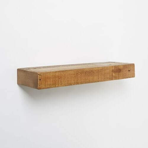 Reclaimed Wood Floating Shelf Reclaimed Pine
