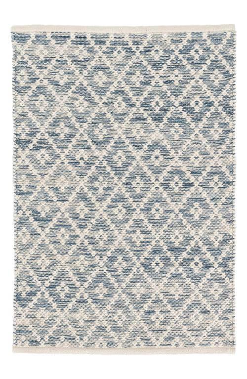 Melange Diamond Woven Rug