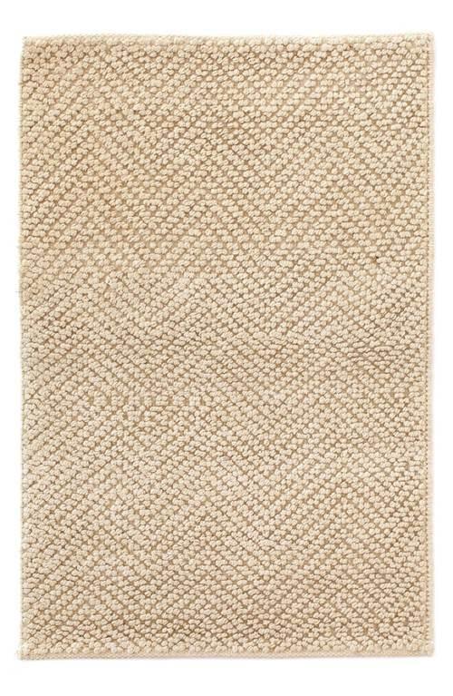 Woven Jute & Cotton Rug