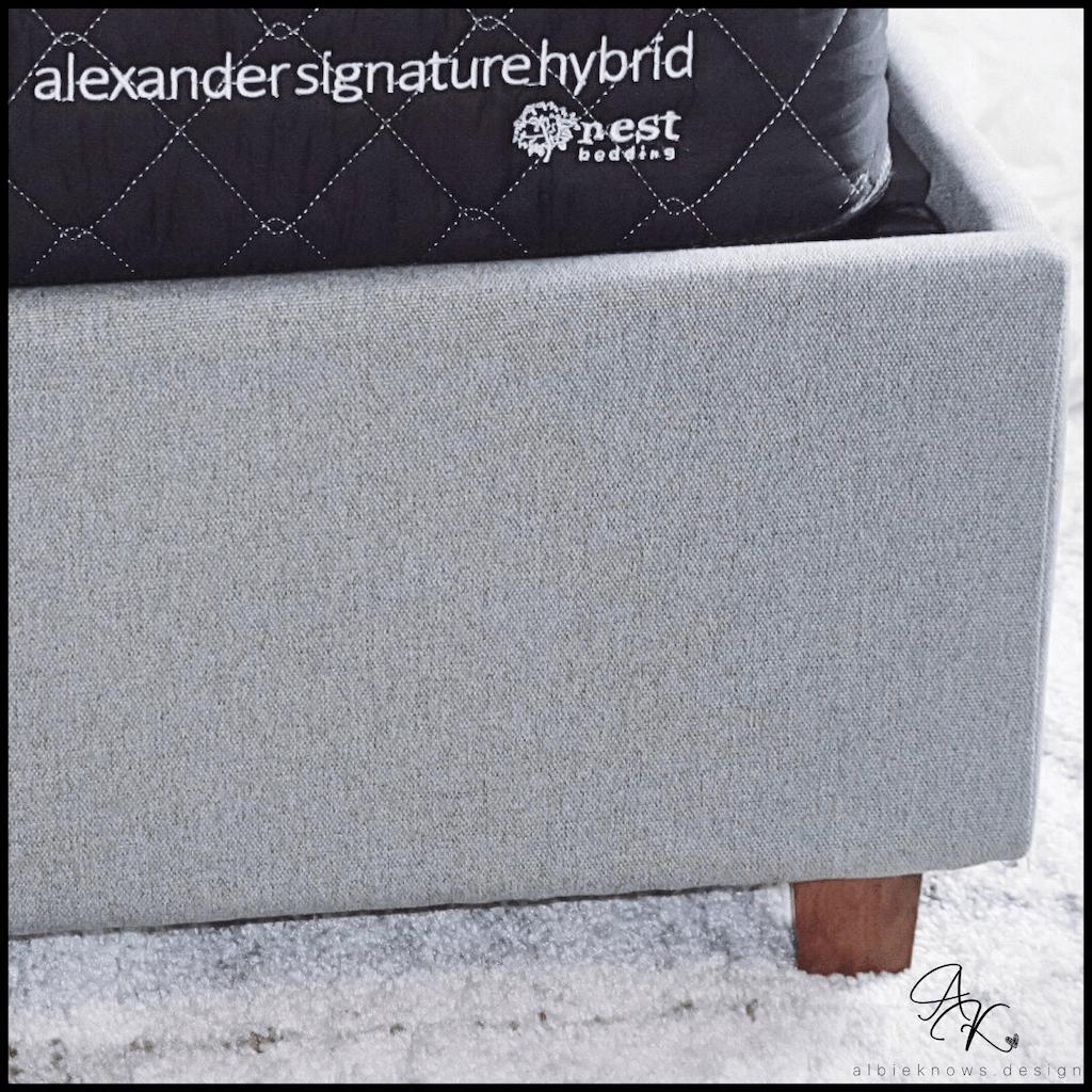 Albie Knows Alexander Series Hybrid from Nest Bedding