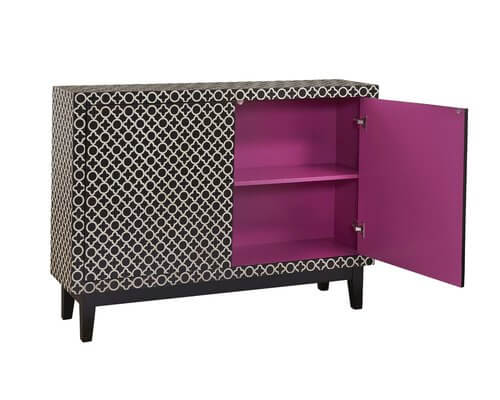 Deloris 2-Door Accent Cabinet | Wayfair