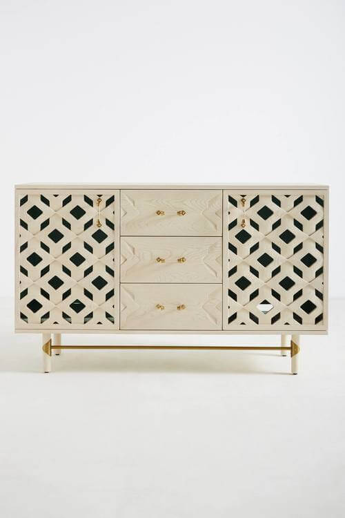 Carroway Storage Console | Anthropologie