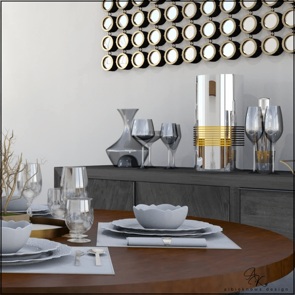 Dining Room Sideboard & Bar | by Albie Know