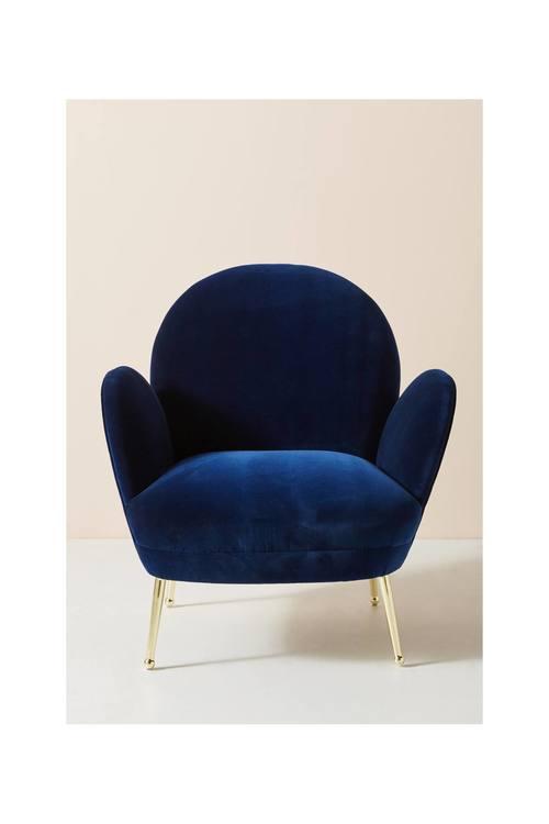 Velvet Savonna Chair