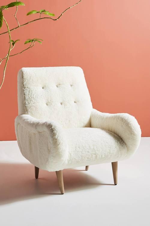 Wool Losange Chair