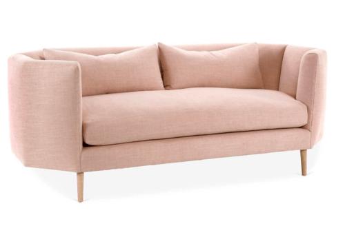 Blythe Sofa, Blush