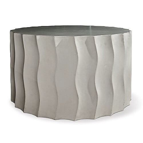 Wave Accent Table, Wide