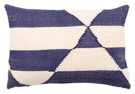 Starboard Lumbar Pillow, Blue