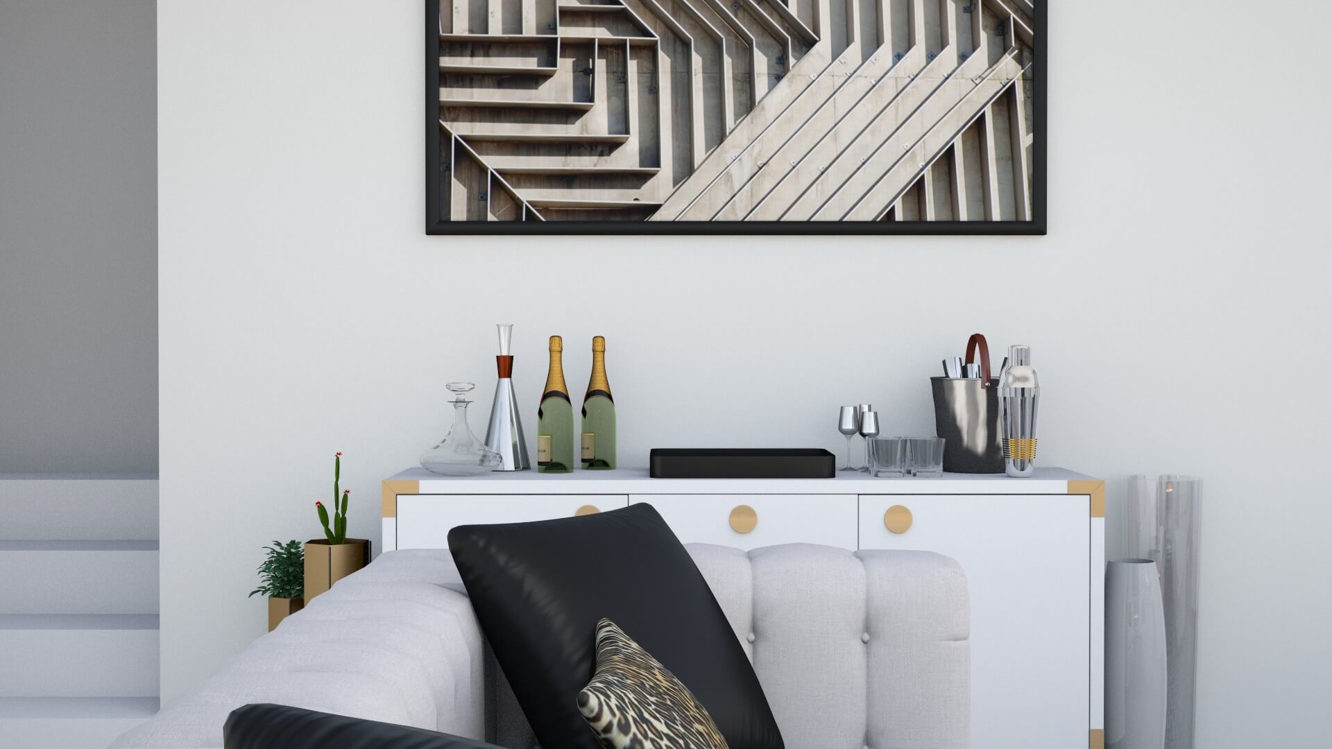 Hollywood Chic Home by Albie Knows