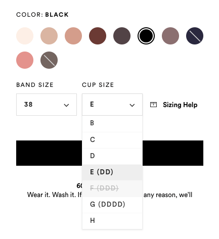 Albie KnowsThirdLove Color & Size Assortment