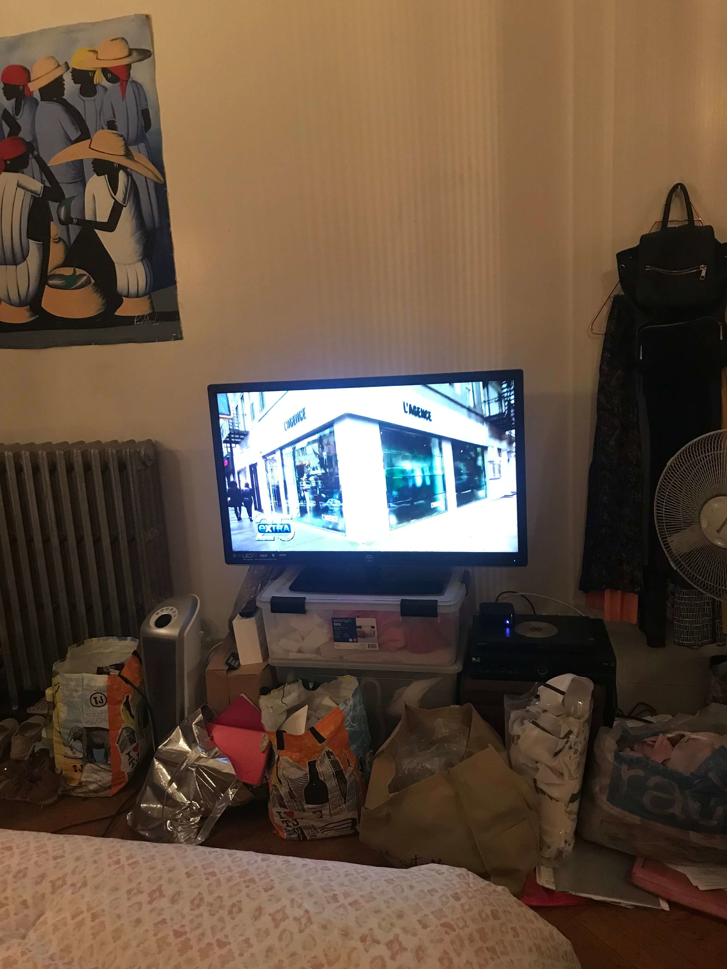 Albie Knows   One Room Challenge Week 1: Studio Apartment Makeover   Brooklyn, New York   Before