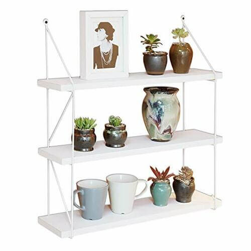 3-Tier Display Wall Shelf