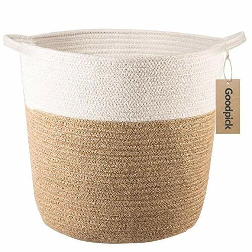 Cotton Rope Storage Basket - Amazon