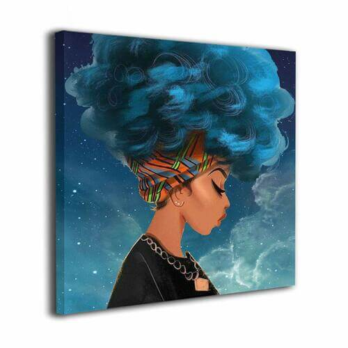 Cool Girl Magic Canvas -