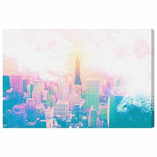 Wonders of New York Canvas -