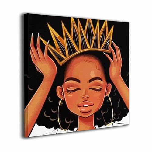 Adjust My Crown Canvas -