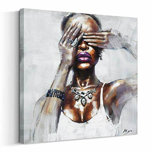 See No Evil Canvas -