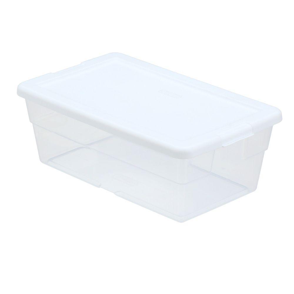 6 Qt Clear Storage Box - Target