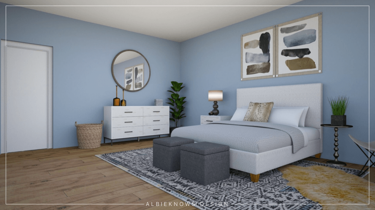 Albie Knows What To Do With That Spare Room | Guest Bedroom