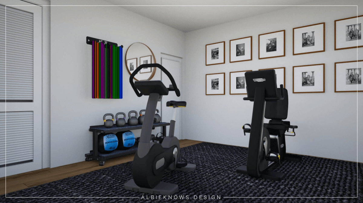 Albie Knows What To Do With That Spare Room | Home Gym