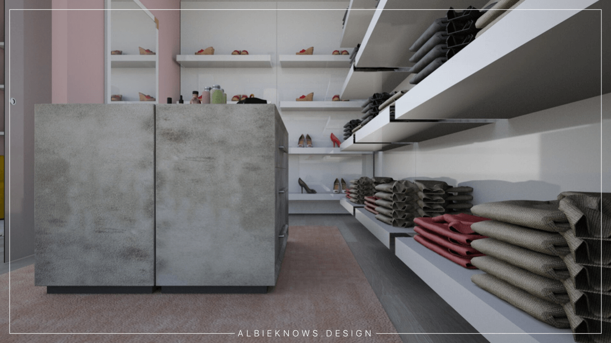 Albie Knows What To Do With That Spare Room | Walk In Closet