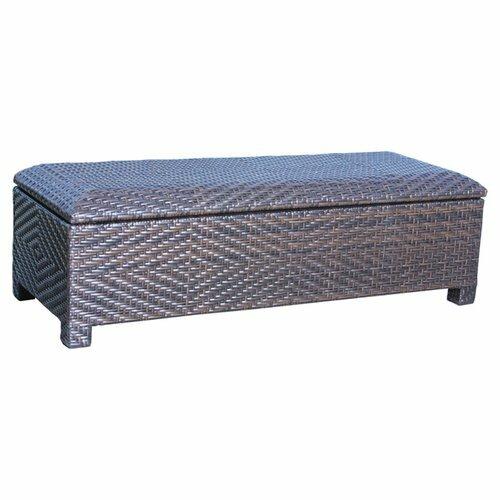 Dedman Wicker Storage Bench