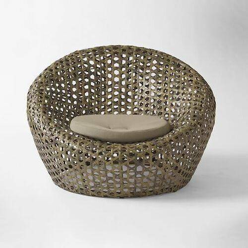 Montauk Outdoor Nest Chair - Antique Palm