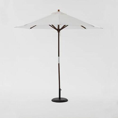 Round Umbrella - White
