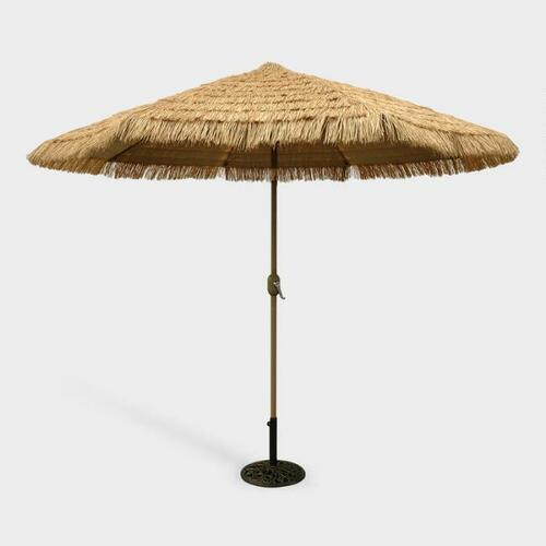 Thatched Market 9 Ft Tilting Outdoor Umbrella