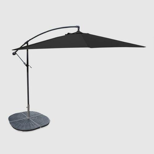 Black Cantilever Outdoor Umbrella Collection