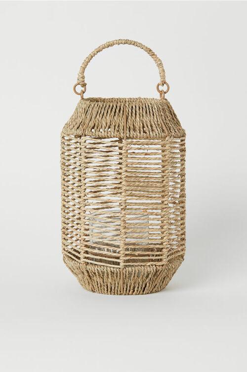 Seagrass Tea Light Holder