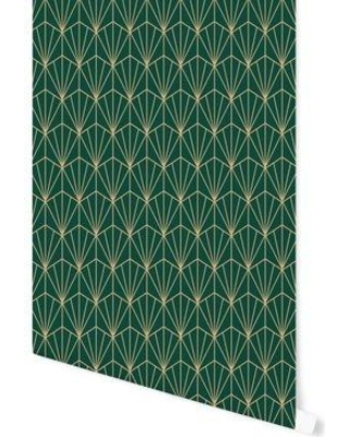 """Hartle 48"""" L x 24"""" W Peel and Stick Wallpaper Panel"""