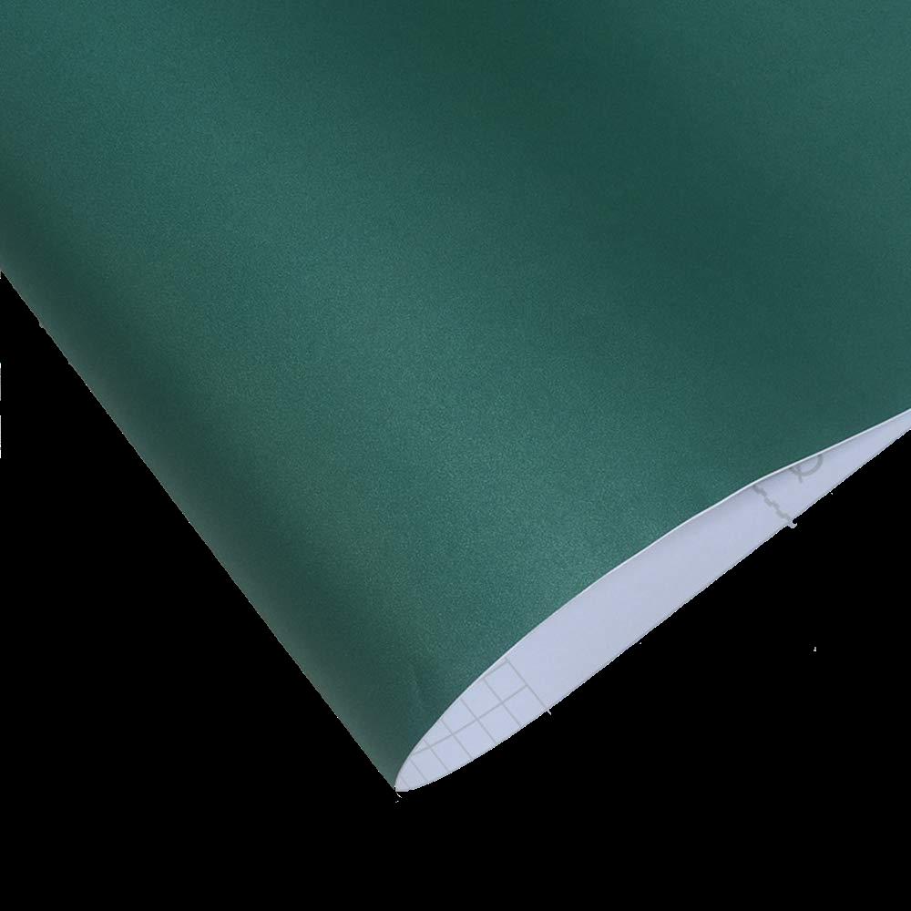 Dark Green Peel and Stick Textured Wallpaper