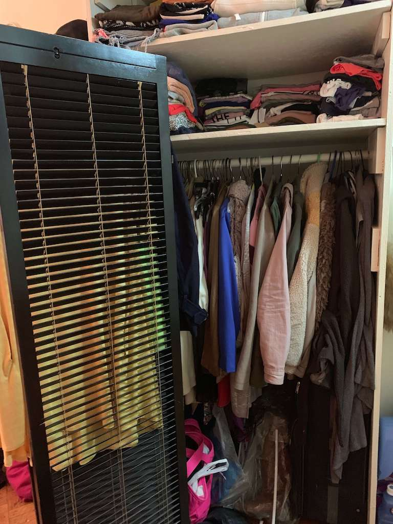Albie Knows ROYGBIV Closet Organization