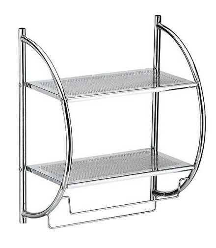 2-Tier Shelf with Towel Bars | Target
