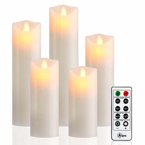 Flameless, Battery Candles Set of 5 | Amazon