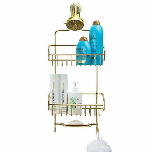 Extra Large Shower Caddy - Gold | Amazon