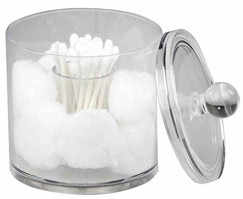 Cotton Ball and Swab Holder, Acrylic | Amazon