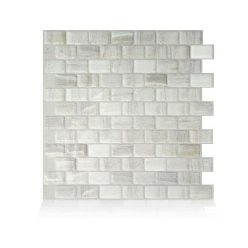 Ravenna Farro Peel and Stick Tile Backsplash (4-Pack) | The Home Depot