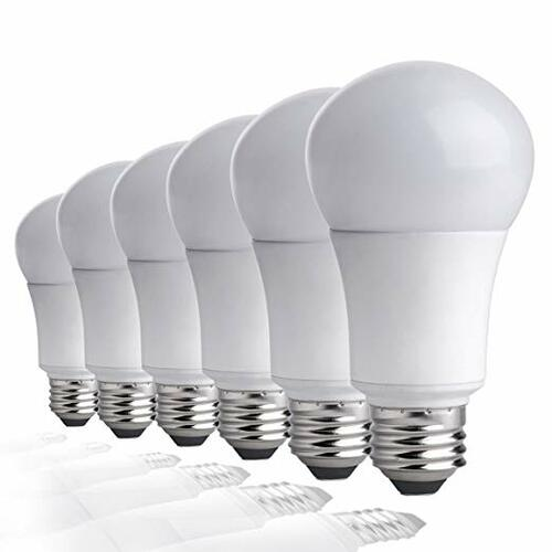 60 Watt Equivalent LED Light Bulbs, Pack of 6 Daylight, 6 Lamps | Amazon