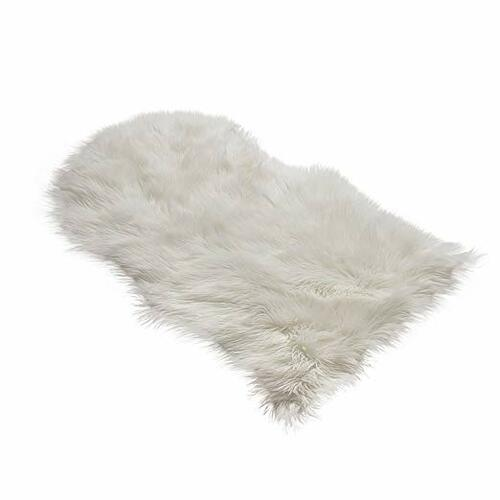 Sheepskin Faux Fur Rug | Amazon