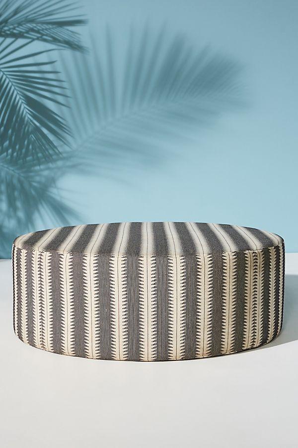 Suren-Striped Clive Ottoman - Sale: $599.95 (reg: $998.00)