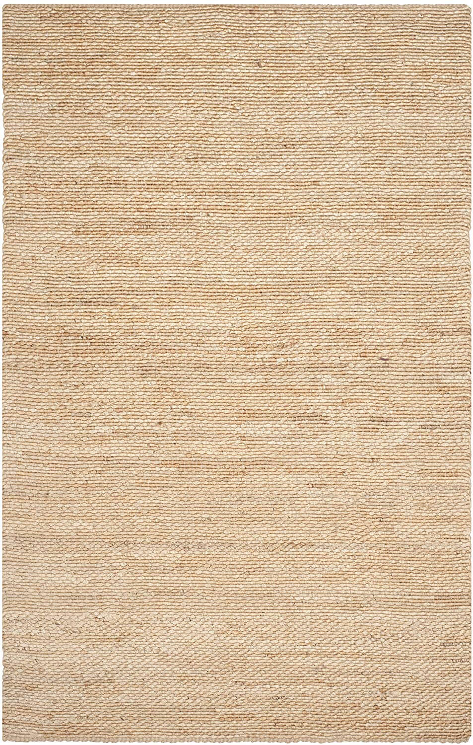 Hand Woven Natural Jute Area Rug