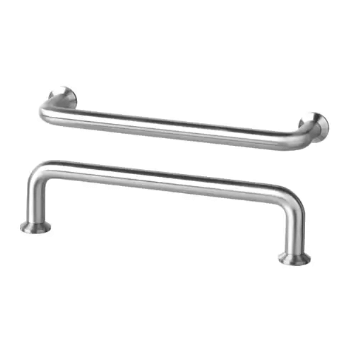 BAGGANÄS Handle, Stainless Steel | IKEA