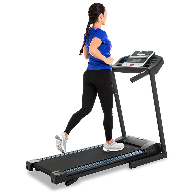 XTERRA Fitness Folding Treadmill Black | Amazon