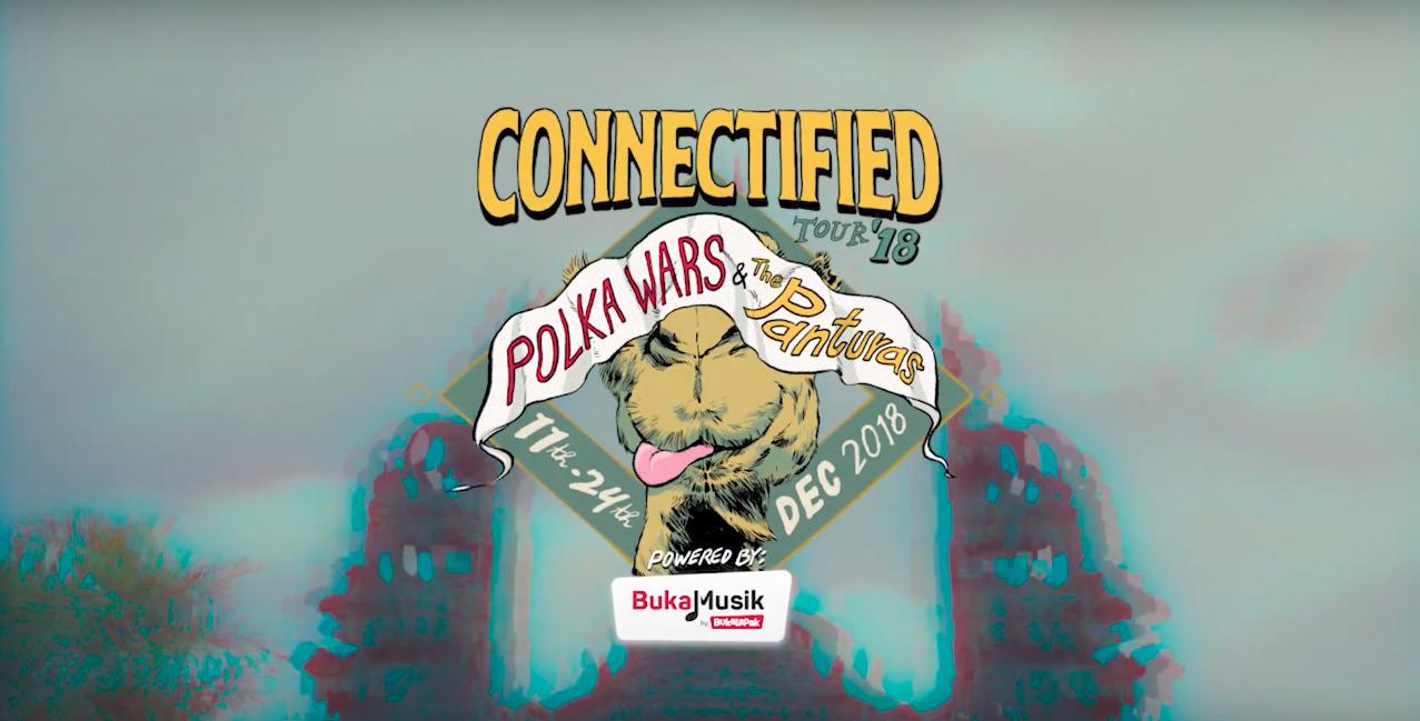 CONNECTIFIED POLKA WARS & THE PANTURAS  [BUKALAPAK]